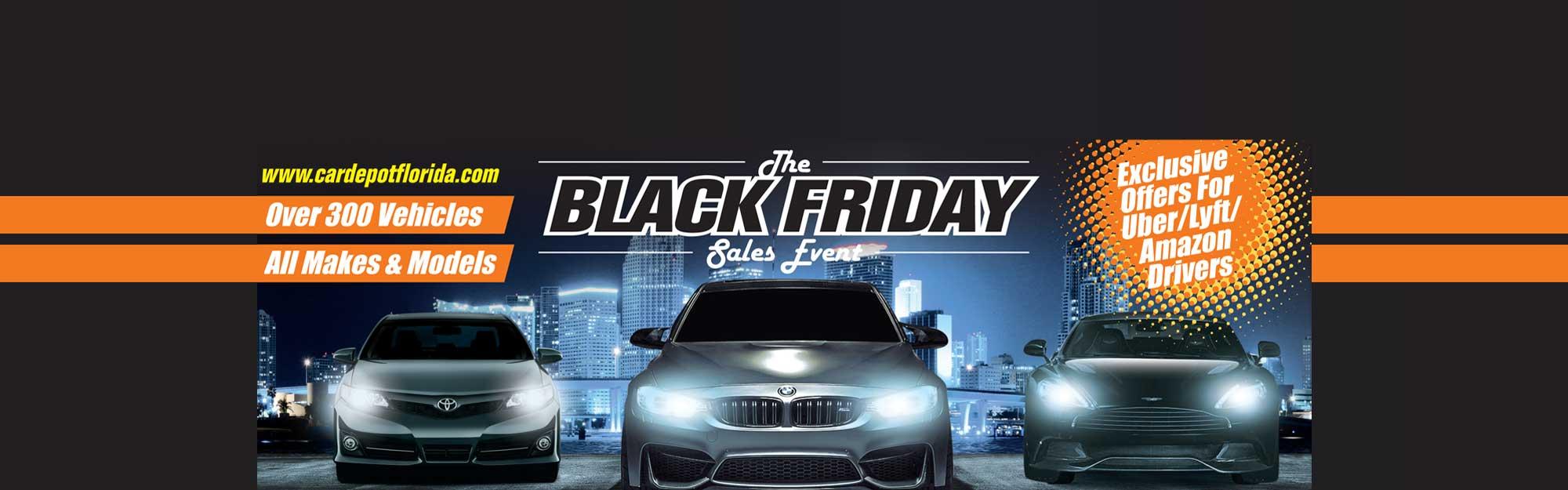 Black Friday Specials at Car Depot
