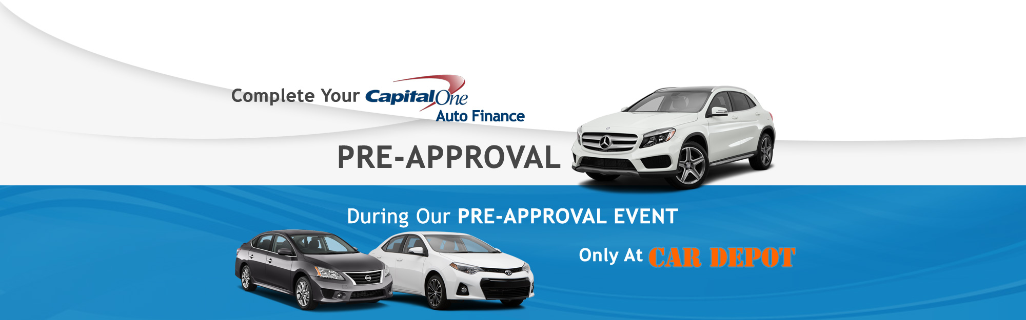 Capital One Pre-Approval
