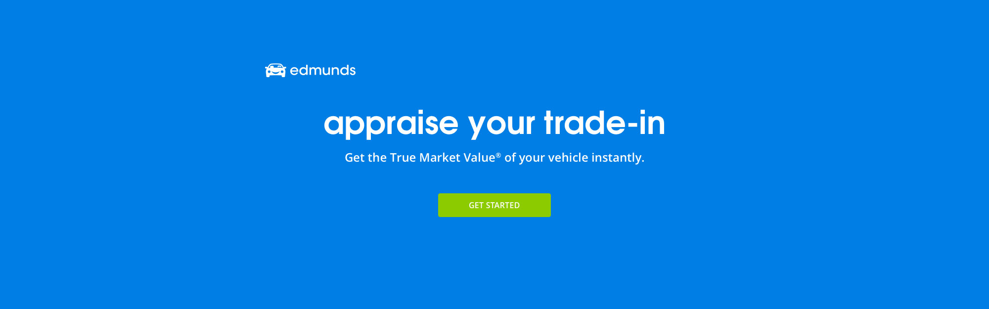 Appraise Your Trade-In