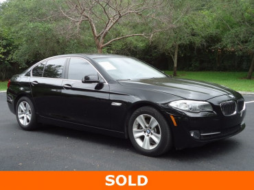2012 BMW 5 Series 4D Sedan - 503602U - Image 1