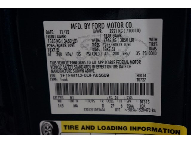2013 Ford F-150 4D SuperCrew - 503871W - Image 38