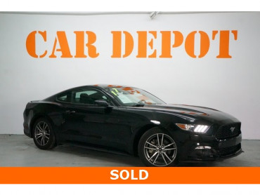 2017 Ford Mustang 2D Coupe - 504095W - Image 1
