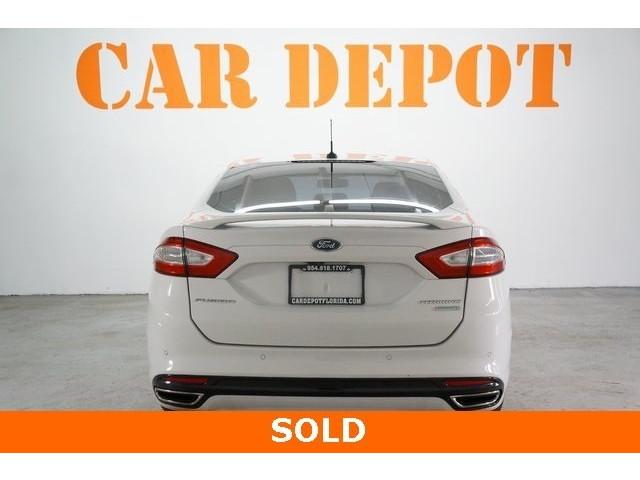 2016 Ford Fusion 4D Sedan - 504187 - Image 6