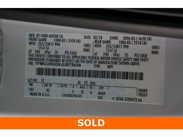 2018 Ford Escape 4D Sport Utility - 504231 - Image 40