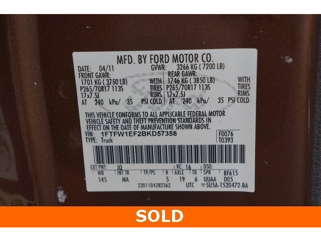2011 Ford F-150 4D SuperCrew - 504248 - Image 35