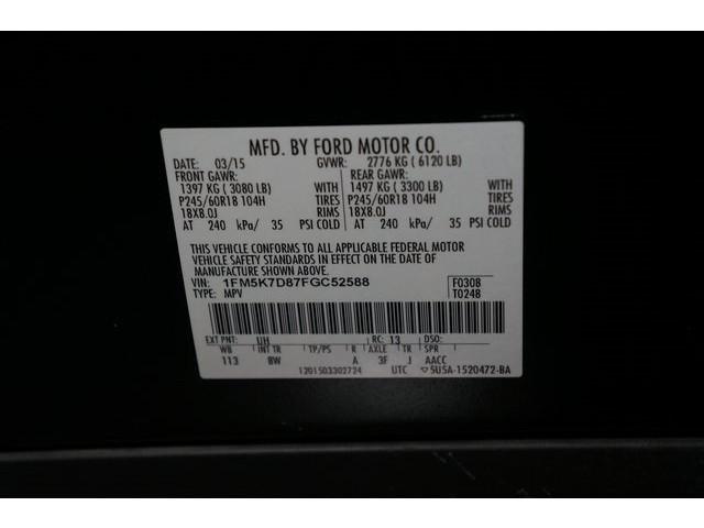 2015 Ford Explorer 4D Sport Utility - 504263 - Image 38