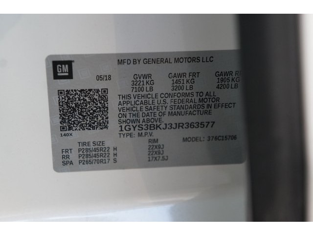 2018 Cadillac Escalade 4D Sport Utility - 504732T - Image 40