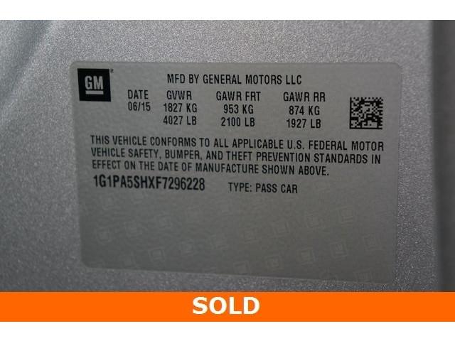 2015 Chevrolet Cruze 4D Sedan - 504285 - Image 37