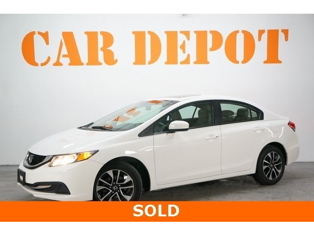 2014 Honda Civic 4D Sedan - 504279 - Image 3