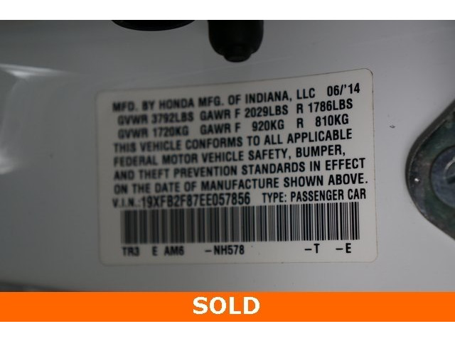 2014 Honda Civic 4D Sedan - 504279 - Image 40