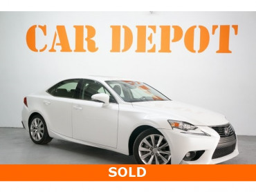 2015 Lexus IS 4D Sedan - 504291 - Image 1