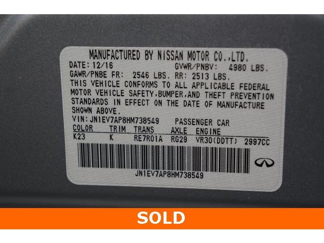 2017 INFINITI Q50 4D Sedan - 504294 - Image 40