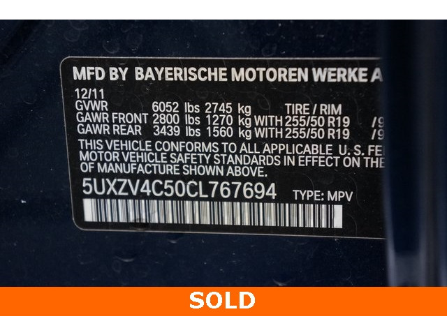 2012 BMW X5 4D Sport Utility - 504362A - Image 40