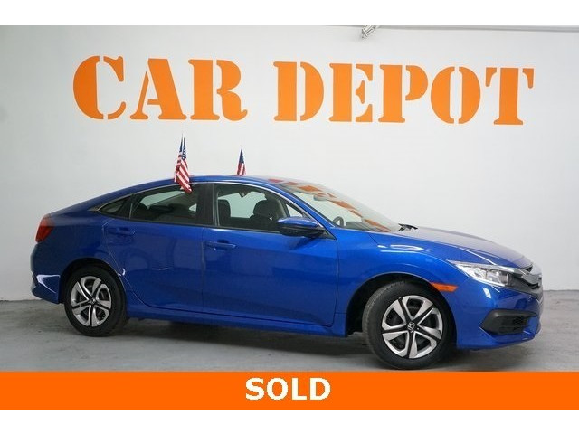 2016 Honda Civic 4D Sedan - 504599 - Image 1