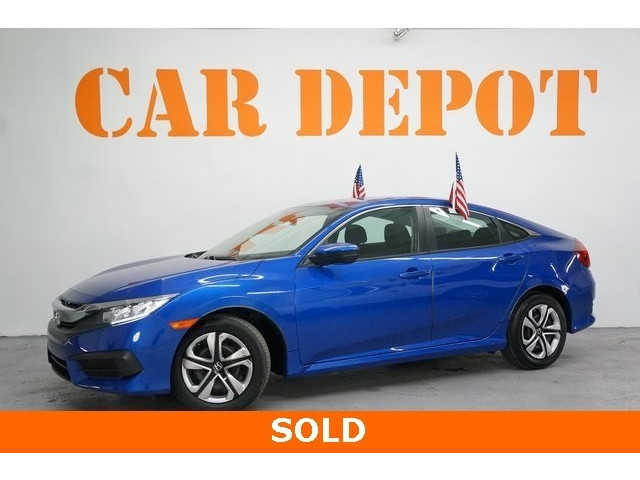 2016 Honda Civic 4D Sedan - 504599 - Image 3