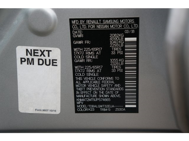 2018 Nissan Rogue 4D Sport Utility - 504650 - Image 40