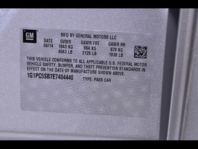 2014 Chevrolet Cruze  4D Sedan  - 203474F - Image 20