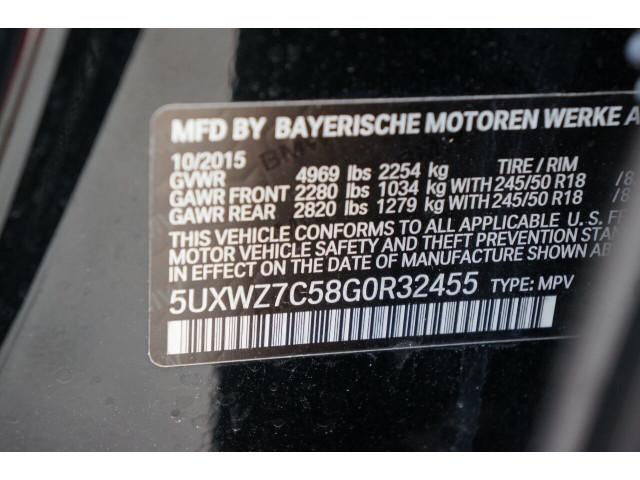 2016 BMW X3 sDrive28i SUV - 504840 - Image 38