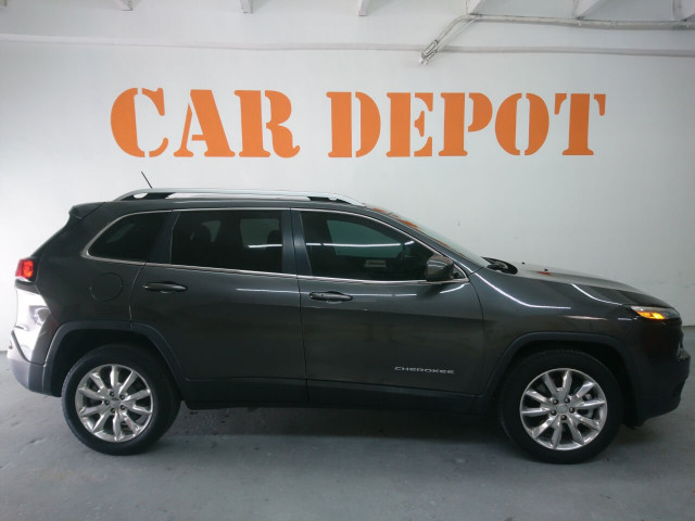2014 Jeep Cherokee Limited SUV - 505717S - Image 3