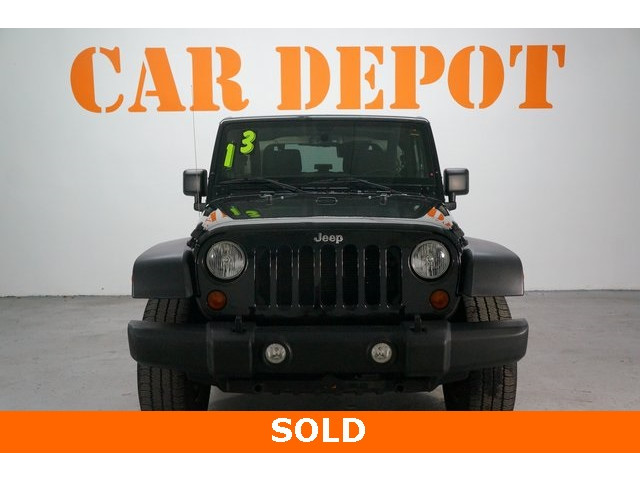 2013 Jeep Wrangler 2D Sport Utility - 203502F - Image 2