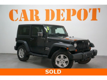 2013 Jeep Wrangler 2D Sport Utility - 203502F - Image 1