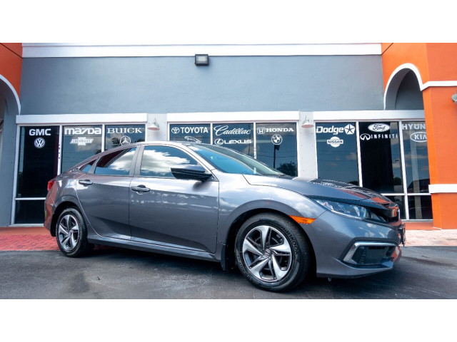 2020 Honda Civic LX Sedan - 001090 - Image 1