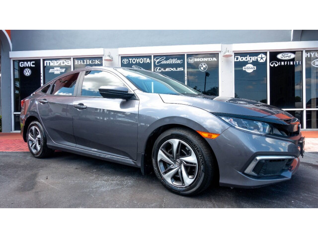 2020 Honda Civic LX Sedan - 001090 - Image 2