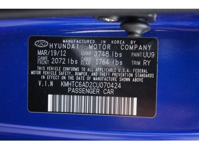 2012 Hyundai Veloster 3D Hatchback - 203589A - Image 38